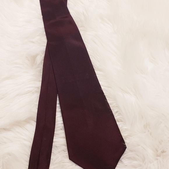 Dkny Other - Dkny maroon silk tie